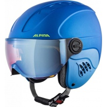 ALPINA CARAT LE VISIER HM BLUE YELLOW - kask narciarski R. 51-55 <is>