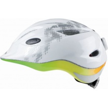 ALPINA GAMMA 2.0 FLASH WHITE RAINBOW - kask rowerowy R. 46-51 cm <is>