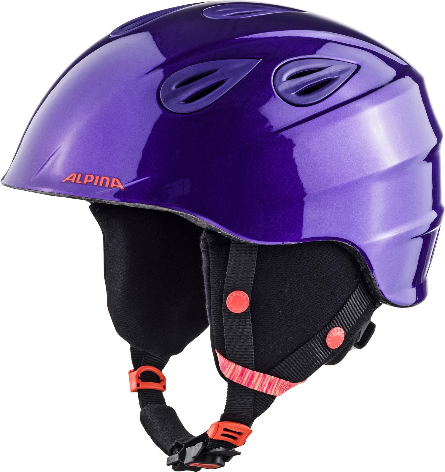 ALPINA GRAP 2.0 JR ROYAL PURPLE kask narciarski R. 51 54