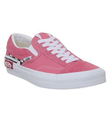 BUTY VANS CLASSIC SLIP ON CAP CHECKERBOARD STRAWBERRY PINK