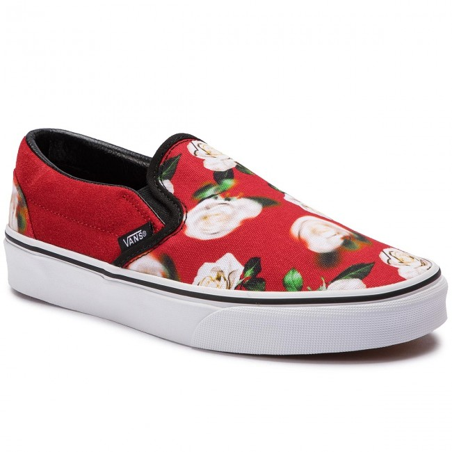 BUTY VANS CLASSIC SLIP ON ROMANTIC FLORAL CHILI PEPPER/ TRUE WHITE ROZMIAR 42/27CM