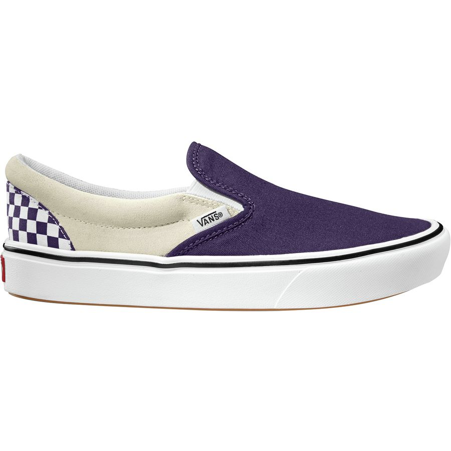 DAMSKIE BUTY VANS COMFYCUSH SLIP ON CHECKERBOARD MYSTERIOSO