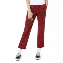 DAMSKIE SPODNIE VANS W AUTHENTIC CHINO STRETCH PANT CHILI PEPPER LEOPARD ROZMIAR 26