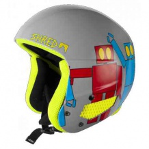 KASK NARCIARSKI SHRED BRAIN BUCKET MINI XXS-XS 51-53 CM