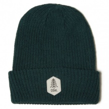 NOWA CZAPKA COAL THE SCOUT KNIT BEANIE DARK GREEN