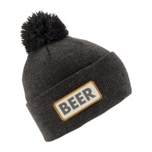 NOWA CZAPKA COAL THE VICE BEANIE HEATHER BLACK (BEER)