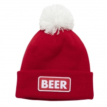 NOWA CZAPKA COAL THE VICE BEANIE HEATHER RED(BEER)