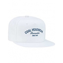 NOWA CZAPKA COAL THE YESLER CAP WHITE