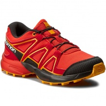 Nowe buty Salomon Speedcross J Fiery Red/Bk/Bright M, rozmiar 31/19 cm