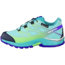 Nowe buty Salomon Wings CSWP J Bubble Blue/Teal Blue, rozmiar 36/22 cm