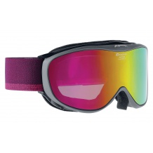 NOWE GOGLE ALPINA CHALLENGE 2.0 MM ANTHRACITE - PINK S2 SPHERIC