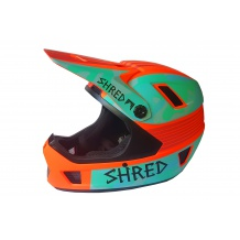 SHRED BRAIN BOX NOSHOCK YAP KASK DOWNHILL MOUNTAIN BIKE 59-64 CM <is>