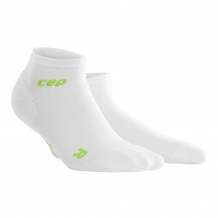 SKARPETY CEP DYNAMIC+ ULTRALIGHT LOW CUT SOCKS WOMEN WHITE/GREEN ROZMIAR V