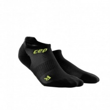 SKARPETY CEP DYNAMIC+ ULTRALIGHT NO SHOW SOCKS MAN BLACK/GREEN ROZMIAR V