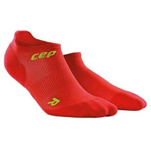 SKARPETY CEP DYNAMIC+ ULTRALIGHT NO SHOW SOCKS MAN RED/GREEN ROZMIAR V