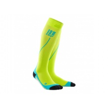 SKARPETY CEP PRO+ RUN SOCKS 2.0 MEN LIME/HAWAII BLUE ROZMIAR V